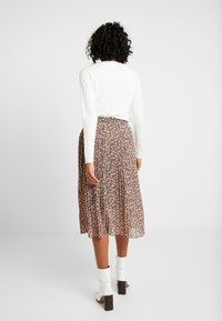 Vila - VINAHLA SKIRT - Pleated skirt - puce/rose smoke - 2