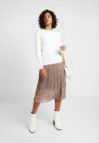 Vila - VINAHLA SKIRT - Pliceret nederdel /Nederdele med folder - puce/rose smoke - 1