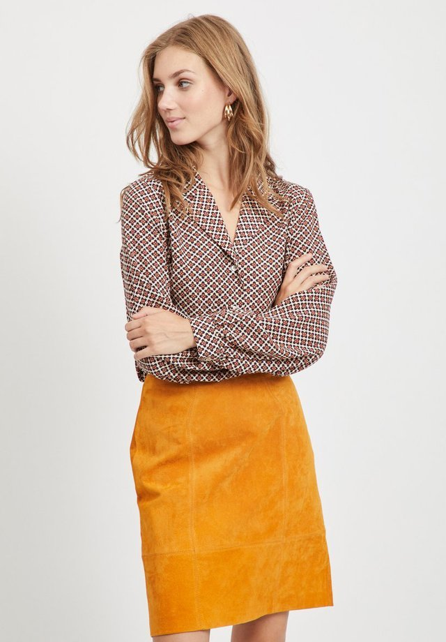 VIEULA - Button-down blouse - sesame