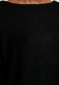 Vila - VIRIL  - Pletené šaty - black - 6