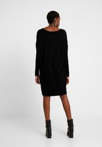 Vila - VIRIL  - Pletené šaty - black - 3