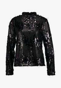 Vila - Blouse - black/sequins - 4