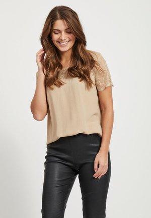 VIMERO - T-shirt - bas - beige