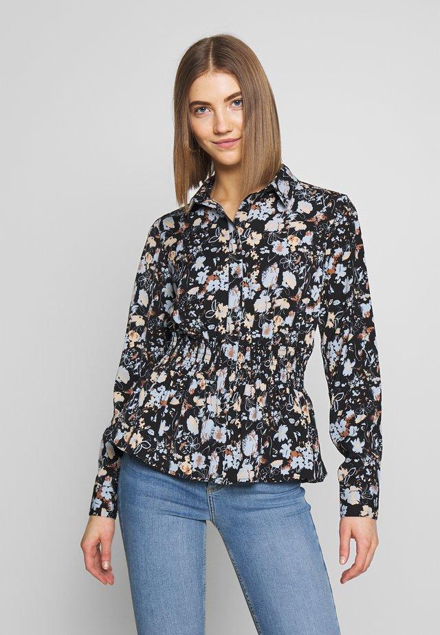 VISUNITA  - Button-down blouse - black