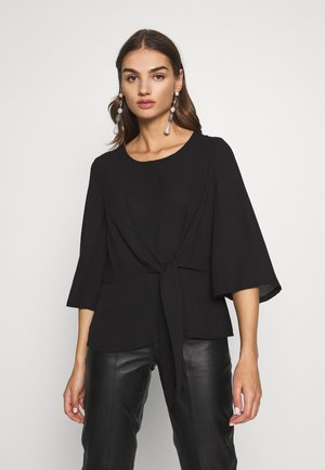 VIKRISTY TIE - Blouse - black