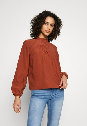 VIDELVITA - Blouse - copper brown