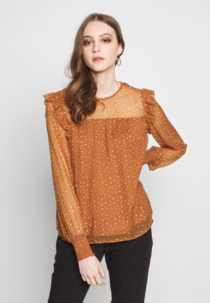 VIUTA - Blouse - copper brown
