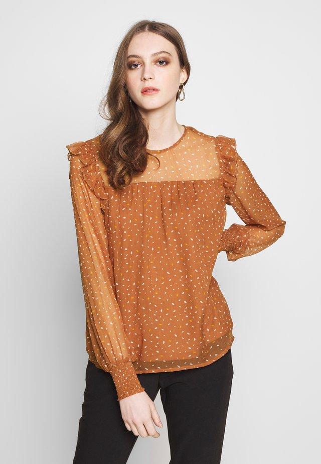 VIUTA - Blus - copper brown