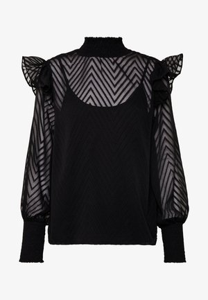 VIFLIA - Blouse - black
