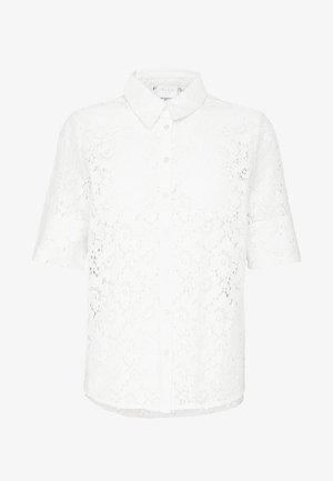 VISULACEY  - Button-down blouse - white alyssum