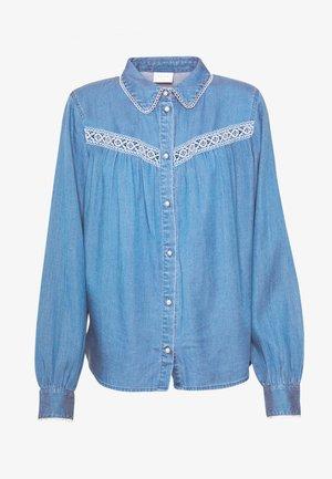 VIBISTA  - Button-down blouse - medium blue denim
