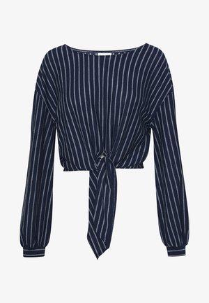 VIBUBA - Pusero - navy blazer/white