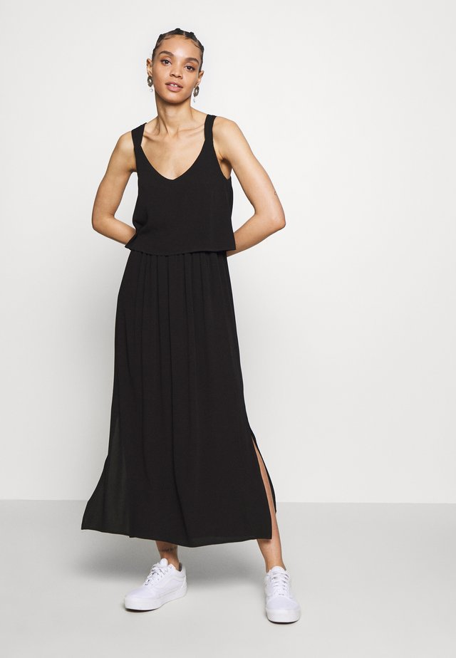 VIJABERA MIDI DRESS - Korte jurk - black