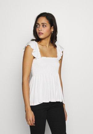 VIBALLA FESTIVAL SMOCK - Camiseta estampada - snow white
