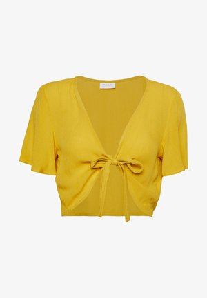 VISUNNY FESTIVAL TIE - Blouse - golden rod