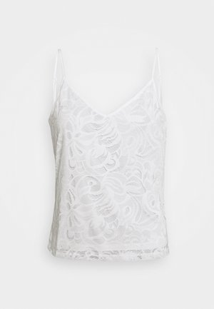 VISTASIA SINGLET  - Top - cloud dancer