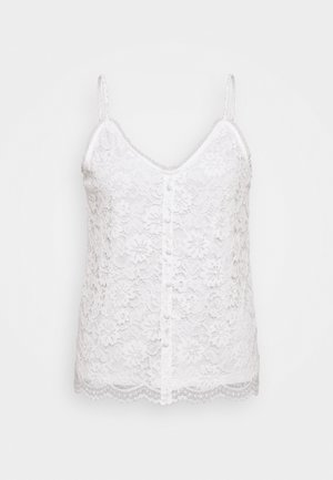 VISELA SINGLET - Top - cloud dancer