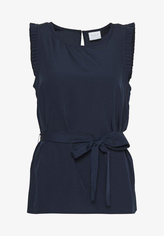 VIALINNIA - Blus - navy blazer