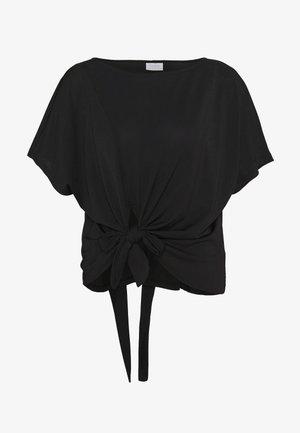 VIJANSANE - T-shirt con stampa - black