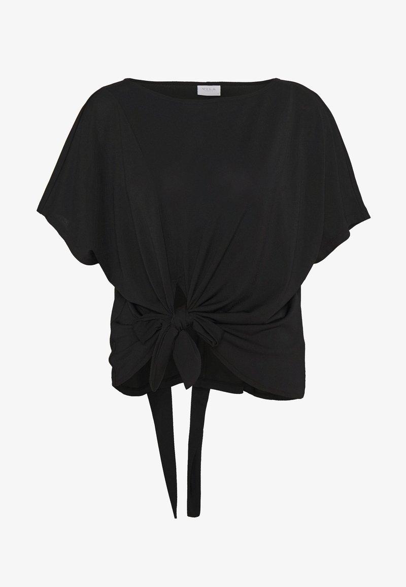 Vila - VIJANSANE - T-shirts med print - black
