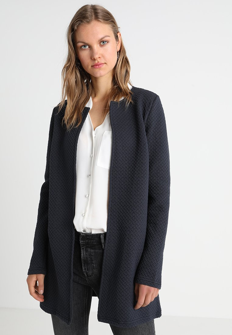 Vila - VINAJA NEW LONG - Chaqueta de punto - dark blue