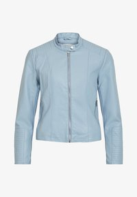 Vila - VIBLUE NEW JACKET - Imitatieleren jas - mottled light blue - 0