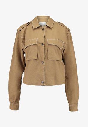 VIZINDY BLAZER - Summer jacket - Tobacco Brown