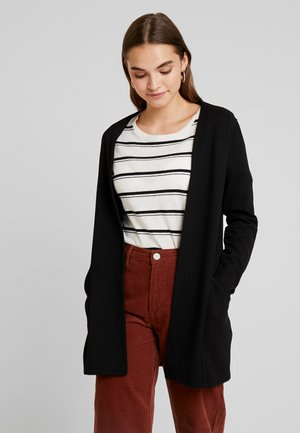 SAVIA COATIGAN - Strikjakke /Cardigans - black