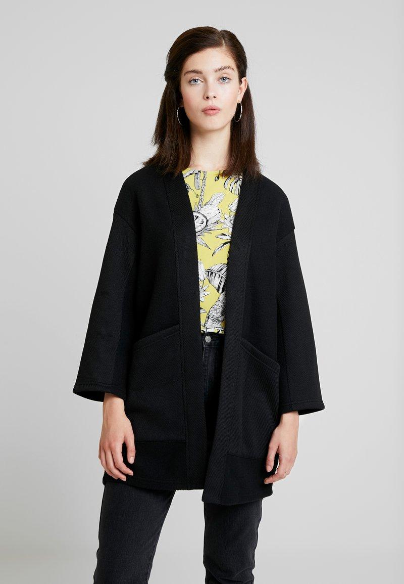 Vila - NEO 7/8 SLEEVE COATIGAN - Summer jacket - black