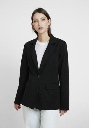 VIBLINA - Kort kåpe / frakk - black