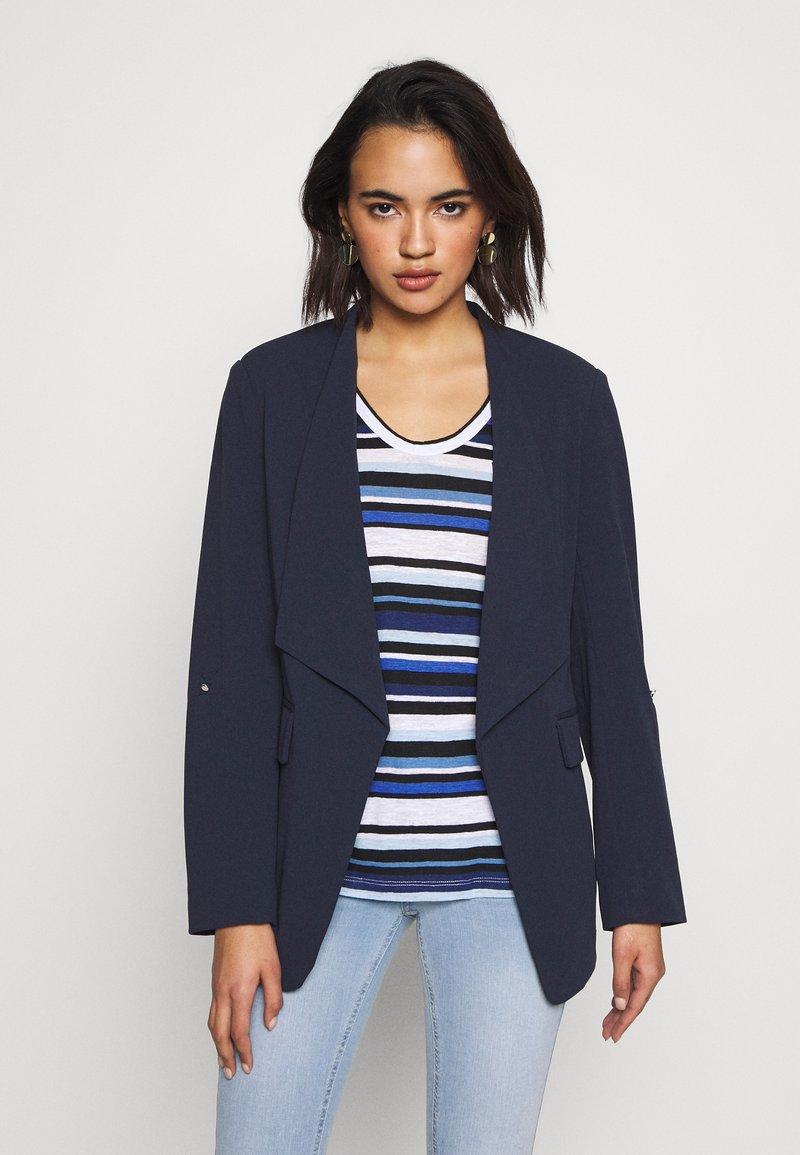 Vila - VIMARY LONG - Blazer - navy blazer