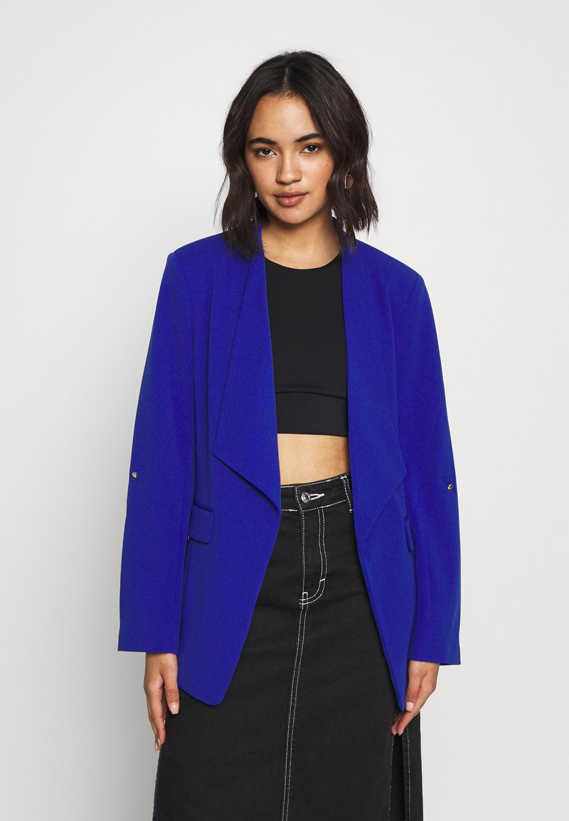 Vila - VIMARY LONG - Blazer - mazarine blue
