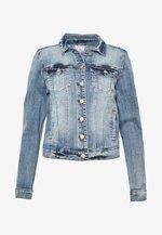 VISHOW JACKET - Džínová bunda - medium blue denim