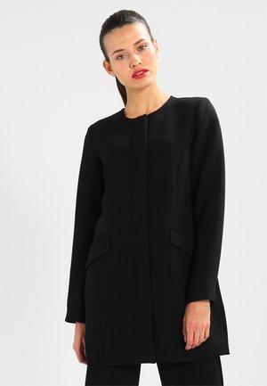 VIPURE - Halflange jas - black