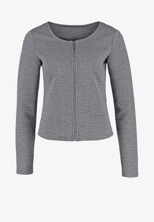 VINAJA - Strikjakke /Cardigans - medium grey melange