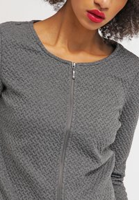 Vila - VINAJA - Cardigan - medium grey melange - 4