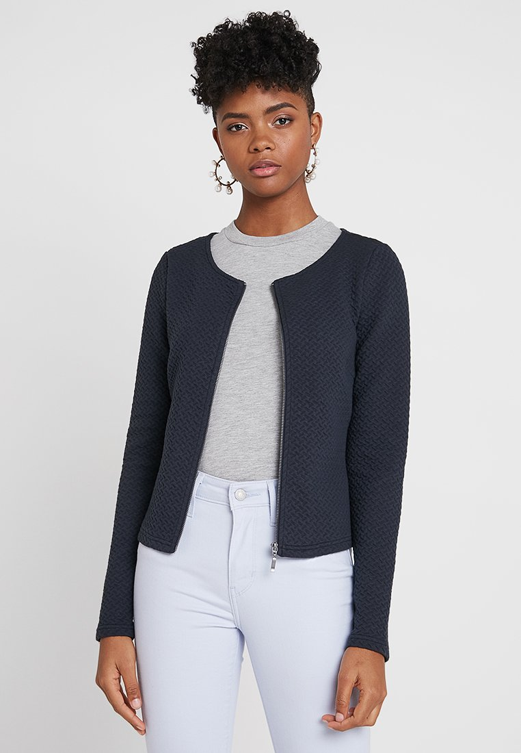 Vila - VINAJA - Strickjacke - dark blue