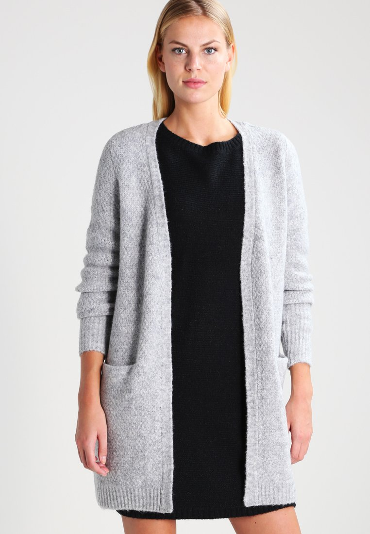 Vila - VIPLACE - Gilet - light grey melange