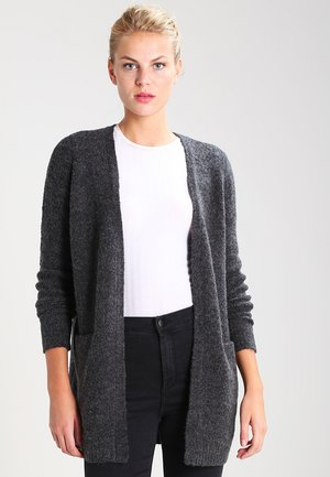 VIPLACE - Cardigan - dark grey melange