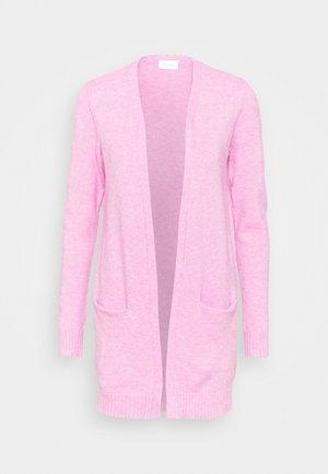 VIRIL - Neuletakki - begonia pink/melange