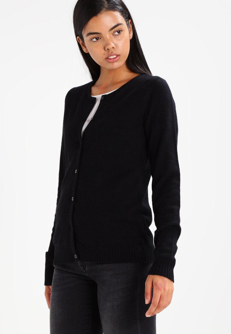 Vila - VIRIL - Cardigan - black