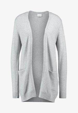 VIRIL OPEN  - Kardigan - light grey melange