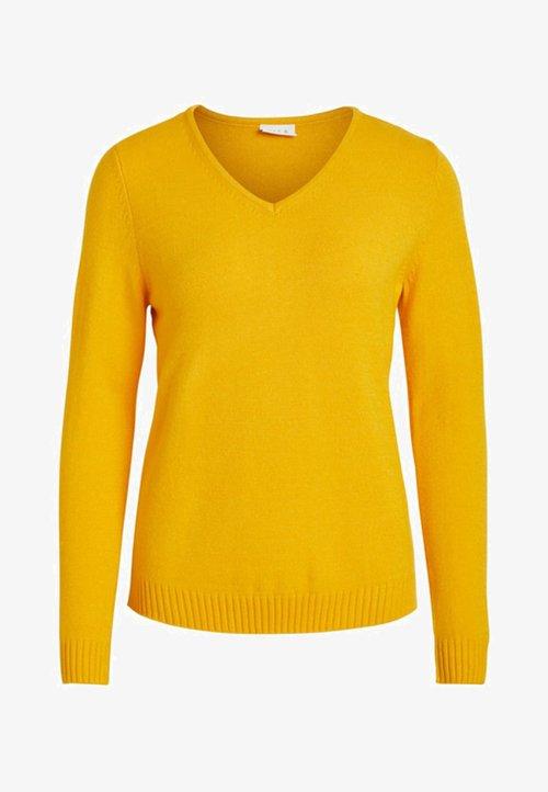 Darmowa dostawa Vila VIRIL - Sweter - golden rod Odzież Damska NGIV-TH6
