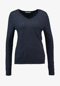 Vila - VIRIL V NECK - Jumper - total eclipse - 5