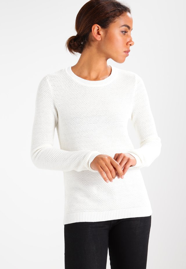 VICHASSA - Stickad tröja - pristine
