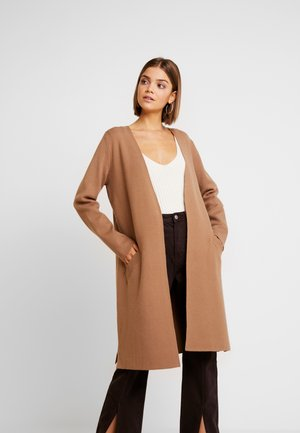 Cardigan - dusty camel