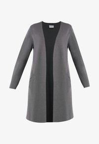 Vila - Kardigan - dark grey melange - 4