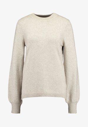 VIRIL BALLOON  - Sweter - natural melange