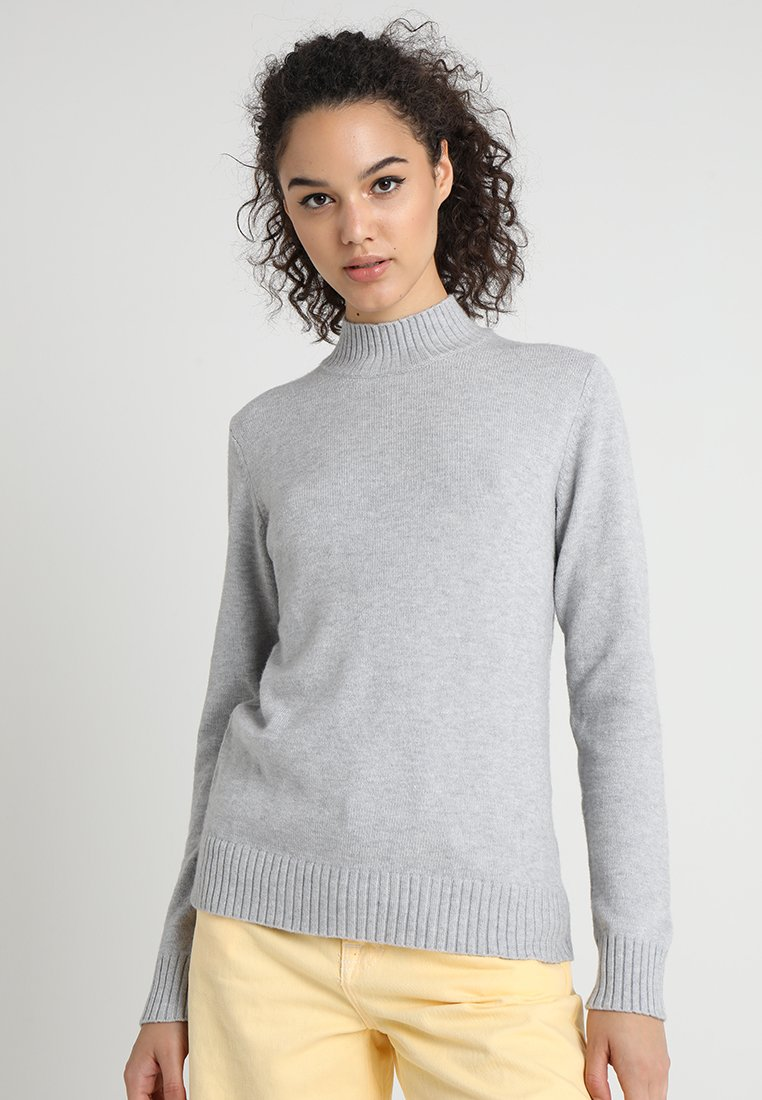 Vila - Jumper - light grey melange