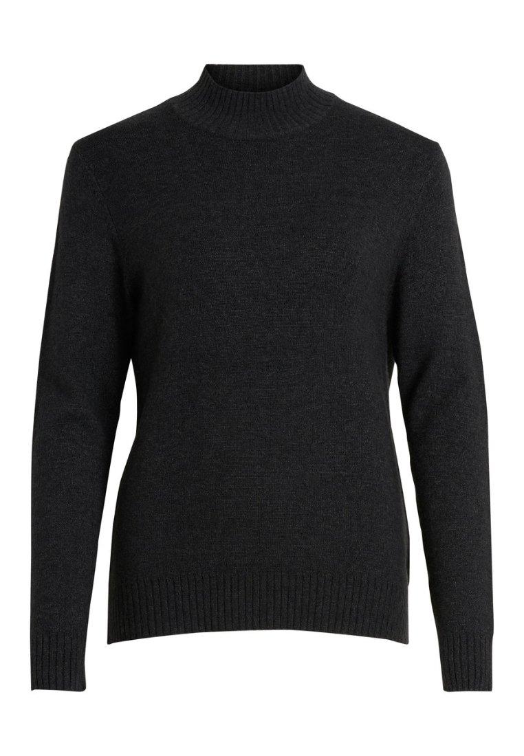 Vila Sweter - light grey melange